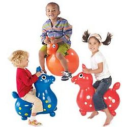 Pony Ball Riding Toy