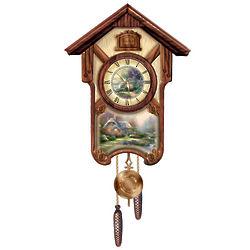 Thomas Kinkade Cuckoo Clock