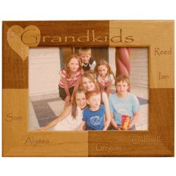Personalized Grandkids Frame