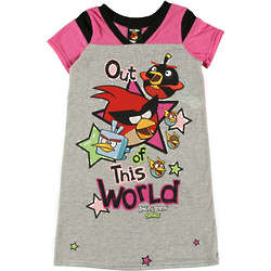 Kid's Angry Birds Out of This World Nightgown
