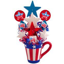 Stars and Stripes Forever Lollipop Gift Mug