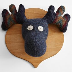 Moose Head Wall Plaque