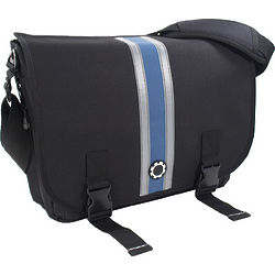 Dad's Center Stripe Messenger Diaper Bag