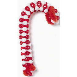 Beaded Candy Cane Ornaments Craft Kit