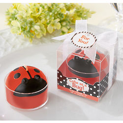 Cute As a Bug Ladybug Tea Light