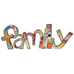 Family Script Wall Art