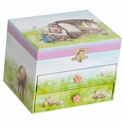 Girl's All the Pretty Little Horses Jewelry Box