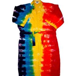 Tie Dye Rainbow Bath Robe