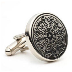 Boston Manhole Cover Cufflinks