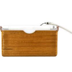 Nintendo DS Lite Eco-Design Teak Skin Wood and Plastic Case