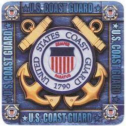 US Coast Guard Coaster Set
