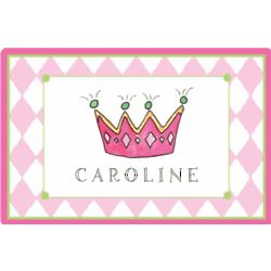Little Princess Personalized Placemat