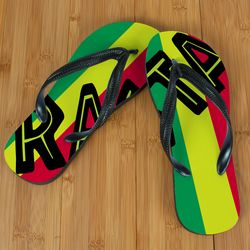 Rasta Flag Beacher Sandal