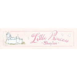 Personalized Little Princess Plaque