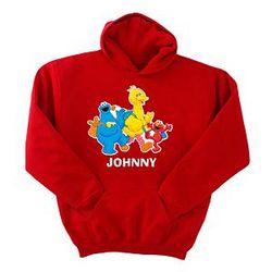 Personalized Sesame Street School Hoodie