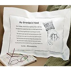 Personalized Mommy, Daddy, Grandma or Grandpa Pillow