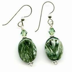 Basic Gemstone Earrings Sephrenite