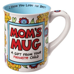 Mom's I Know You Love Me Best Mug