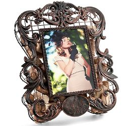 Cherished Memories Wine Cork Cage Picture Frame