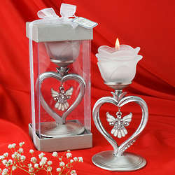 Angel Heart Candle Holder