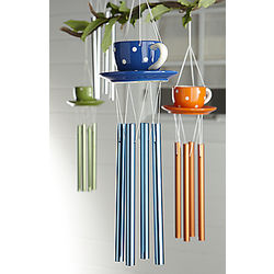 Ceramic Teacup Wind Chime