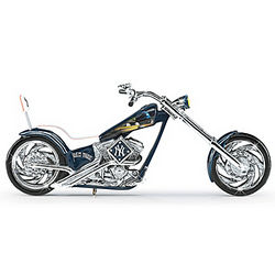 Pride of the Park New York Yankees Motorcycle Figuine
