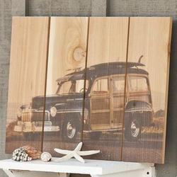 Handcrafted Surf's Up Wall Hanging
