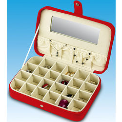 24 Compartment Earring Case