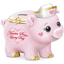 Nurses Save Every Day Piggy Bank