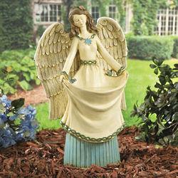 Angel Garden Statue Birdfeeder