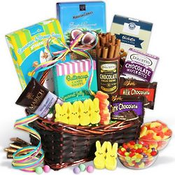 Gourmet Sweets Easter Basket
