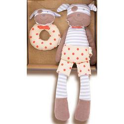 Boxer Dog Organic Baby Gift Set