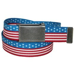 Stars and Stripes American Flag Belt