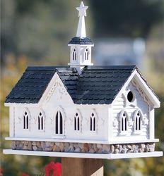 Star Barn Birdhouse