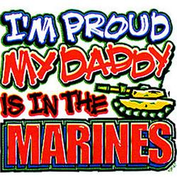 Daddy Marines T-Shirt