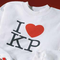 I Heart Initials Sweatshirt