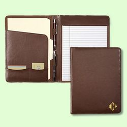 Brown Leather Padfolio