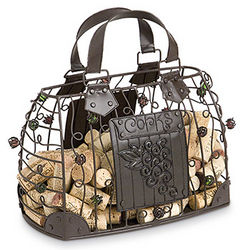 Hand Bag Cork Cage