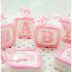 Baby Blocks White Chocolate Covered Oreo Cookies