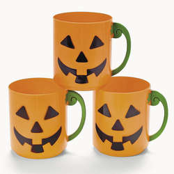 Jack O' Lantern Mini Mugs