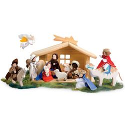 Kid's Nativity Scene