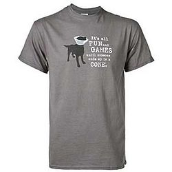 Medium Fun and Games Dog T-Shirt
