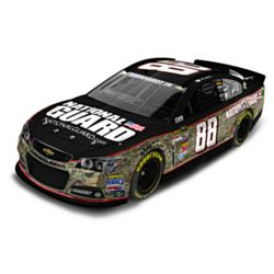 Dale Earnhardt Jr. National Guard Camouflage Diecast Car