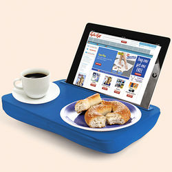 Blue iPad Lap Desk