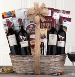 Red Wines of Napa and Sonoma Gift Bakset