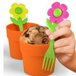Flower Pot Cupcake Molds