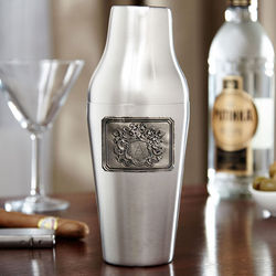 Personalized Royal Crest Paris Nights Cocktail Shaker