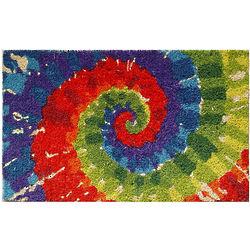 Tie Dye Coir Doormat