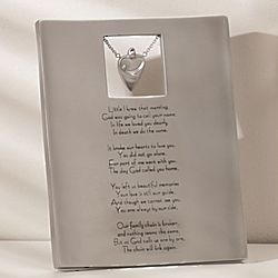 Memory Plaque with Verse