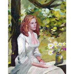 Julia Roberts Oil Painting Art Print